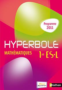 Hyperbole maths 1ere es corrigé | Correction Manuel Scolaire